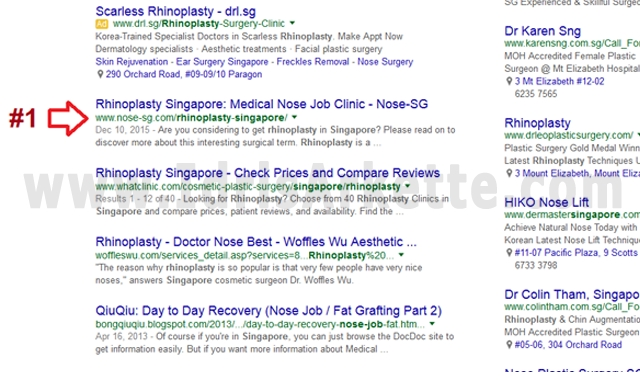 proof showing seo works